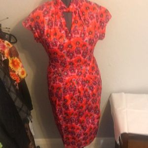 Lindy Bop Poppy Wiggle Dress NWT